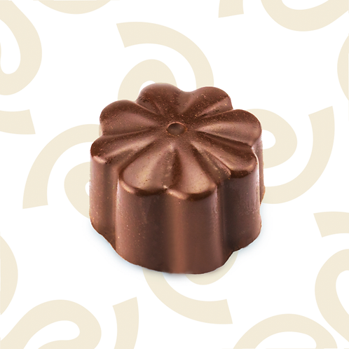 Chocolate relleno de cajeta