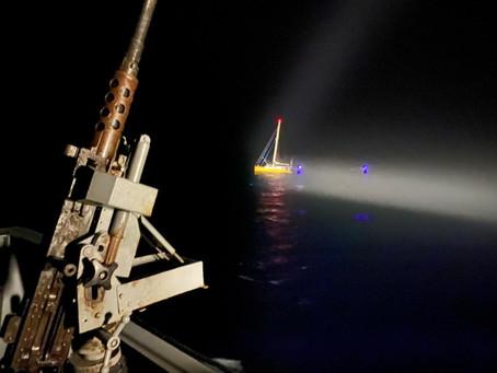 Brasil realiza operación sin precedentes e intercepta embarcación cargada de cocaína