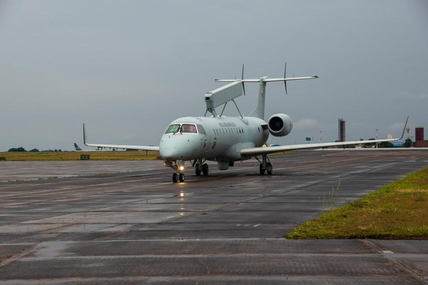 FAB tiene la mayor capacidad de AEW & C en la región con el Embraer E-99. Foto: João Paulo Moralez