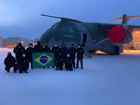 El KC-390 se somete a pruebas en un ambiente extremadamente frío