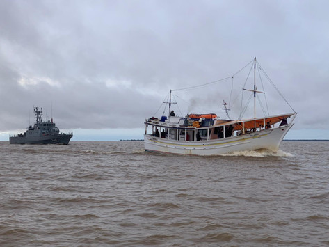 Nuevo buque venezolano es incautado por la Armada de Brasil pescando ilegalmente