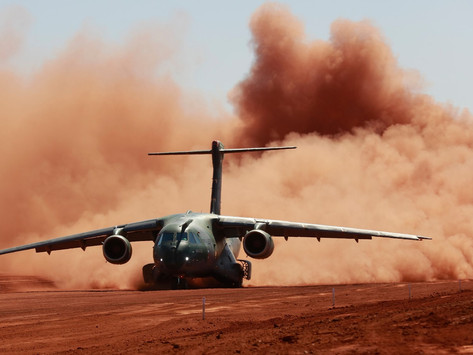 Operación en pistas sin pavimentar. Otro hito en el programa KC-390