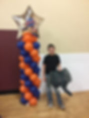 Elephant Balloons Basic 8Ft Tower.JPG