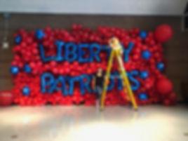 Balloon Wall 10x22 feet by Elephant Balloons