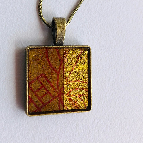 Feuille d'or d'Asie