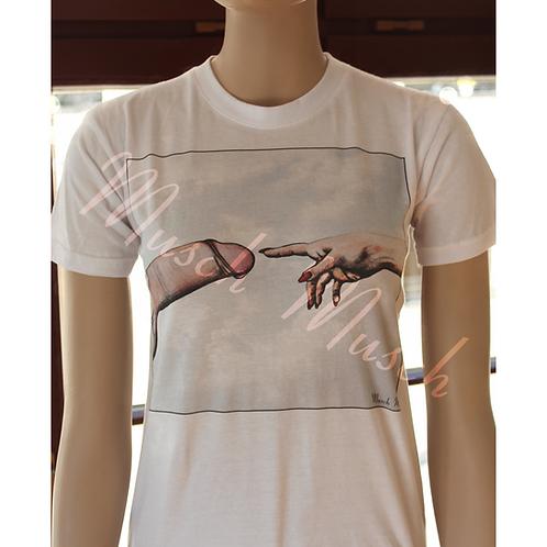 """T-Shirt """"DER SCHWANZ GOTTES"""" - Herren"""