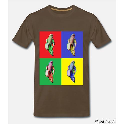 """Herren T-Shirt """"MULTI-BANANA"""""""