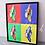 """Thumbnail: Wandbild """"ALLES BANANE?"""" - 40x50 cm inkl. Rahmen"""