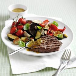Sreak and veg