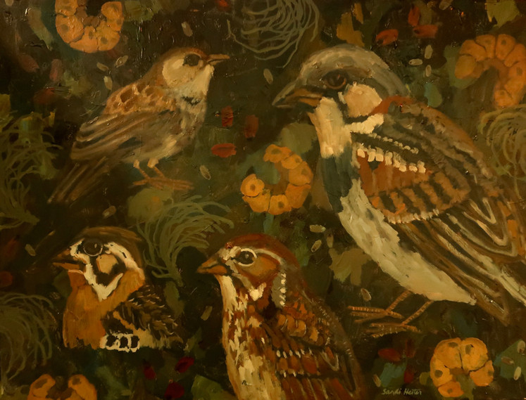 Birds & Twigs n.7