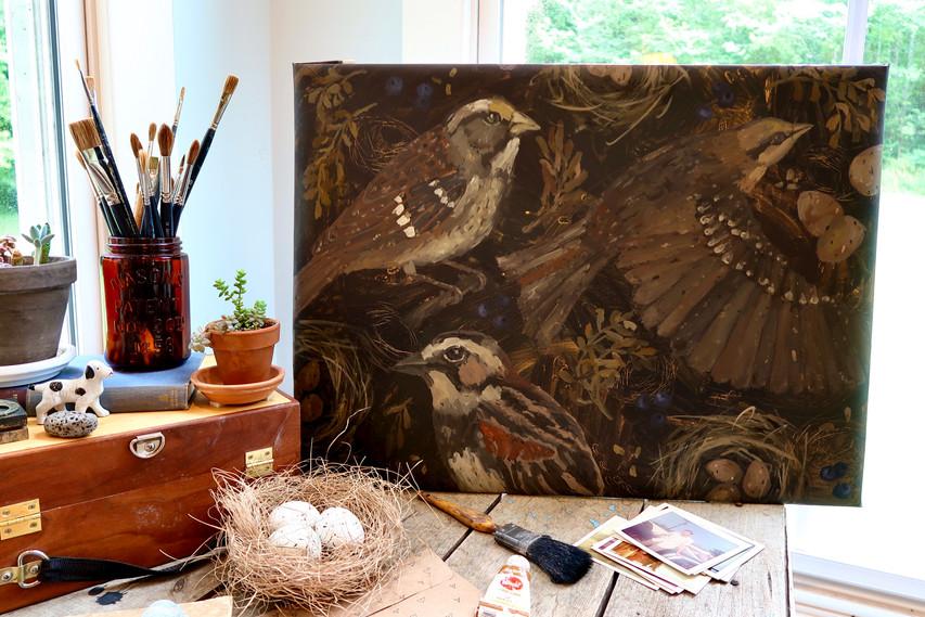 Birds & Twigs n.5