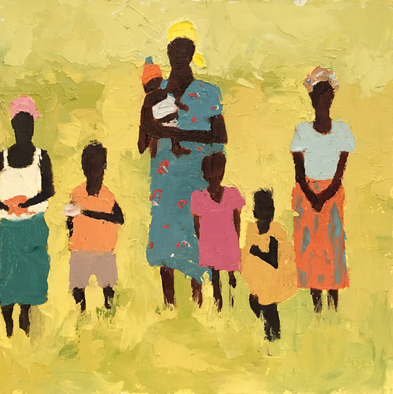 African Women & Children n.8
