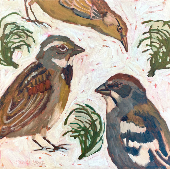 Birds & Twigs n.4
