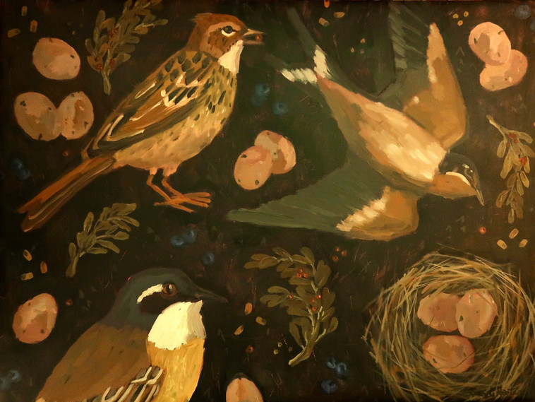 Birds & Twigs n.6