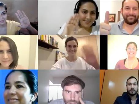 Encuentro de diálogo con empresarios jóvenes de ADEC