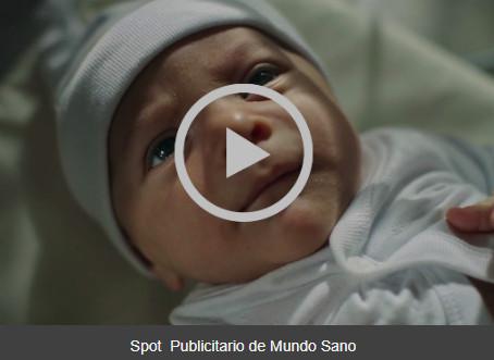 SPOT PUBLICITARIO MUNDO SANO
