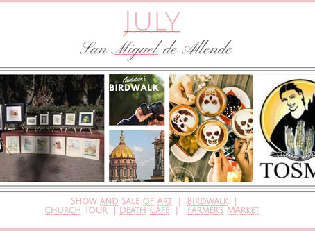 July in San Miguel