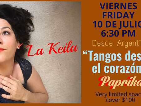 """La Keila """"Tangos desde el Corazón"""""""