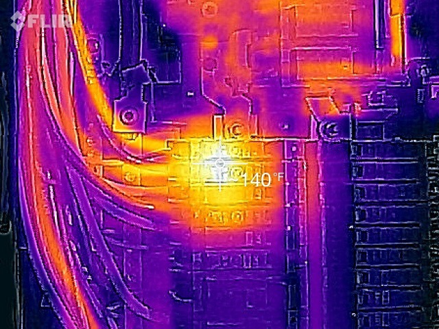 Electrical Defect (Thermal Image)