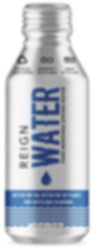 Canned water. 16oz Reign Water