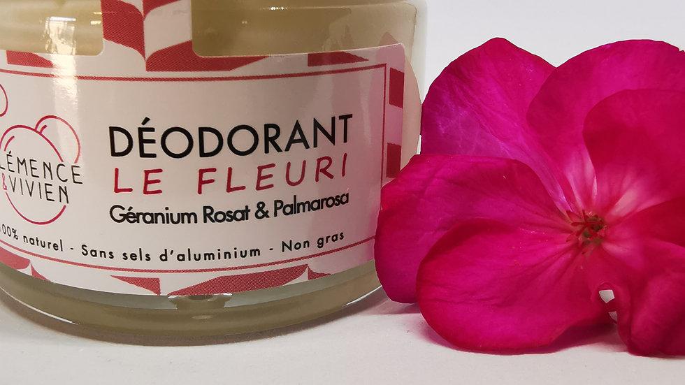 Déodorant crème Le Fleuri