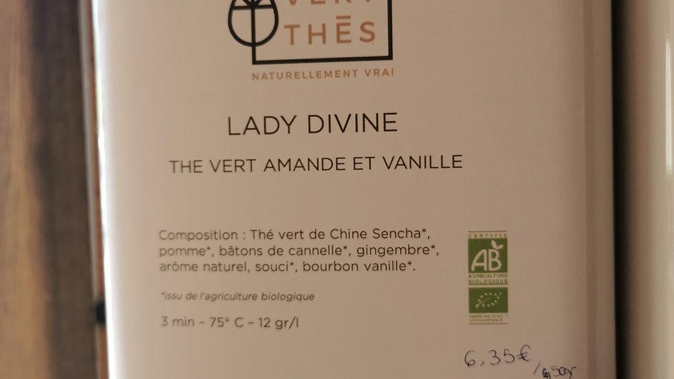 Thé en vrac - Thé vert, amande et vanille
