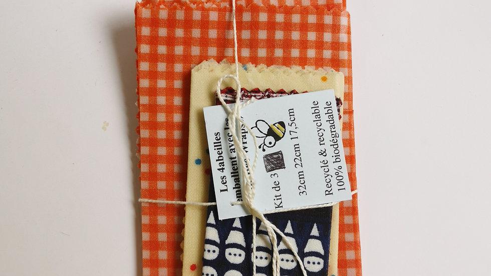 Bee wraps - Emballage écologique