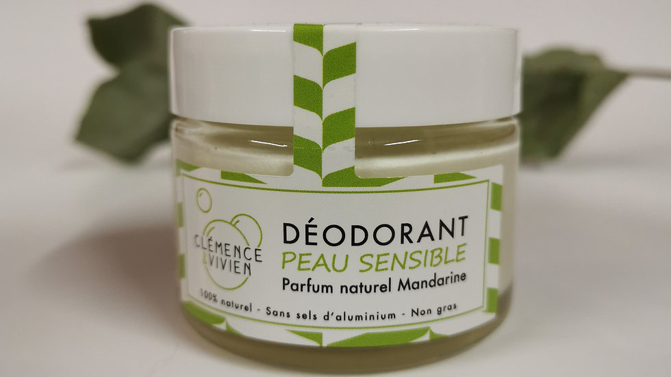 Déodorant peaux sensibles - Mandarine