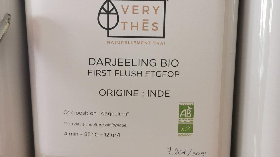 Thé en vrac - Darjeeling Bio