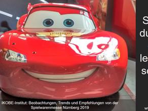 Einstimmung auf die Spielwarenmesse Nürnberg 2019: Spielst du noch oder lebst du schon?