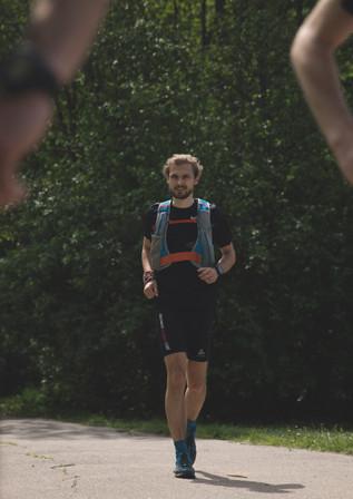 100km run around Vilnius
