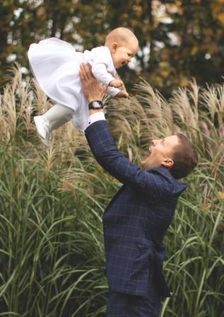 Tėja's Birthday and Baptism