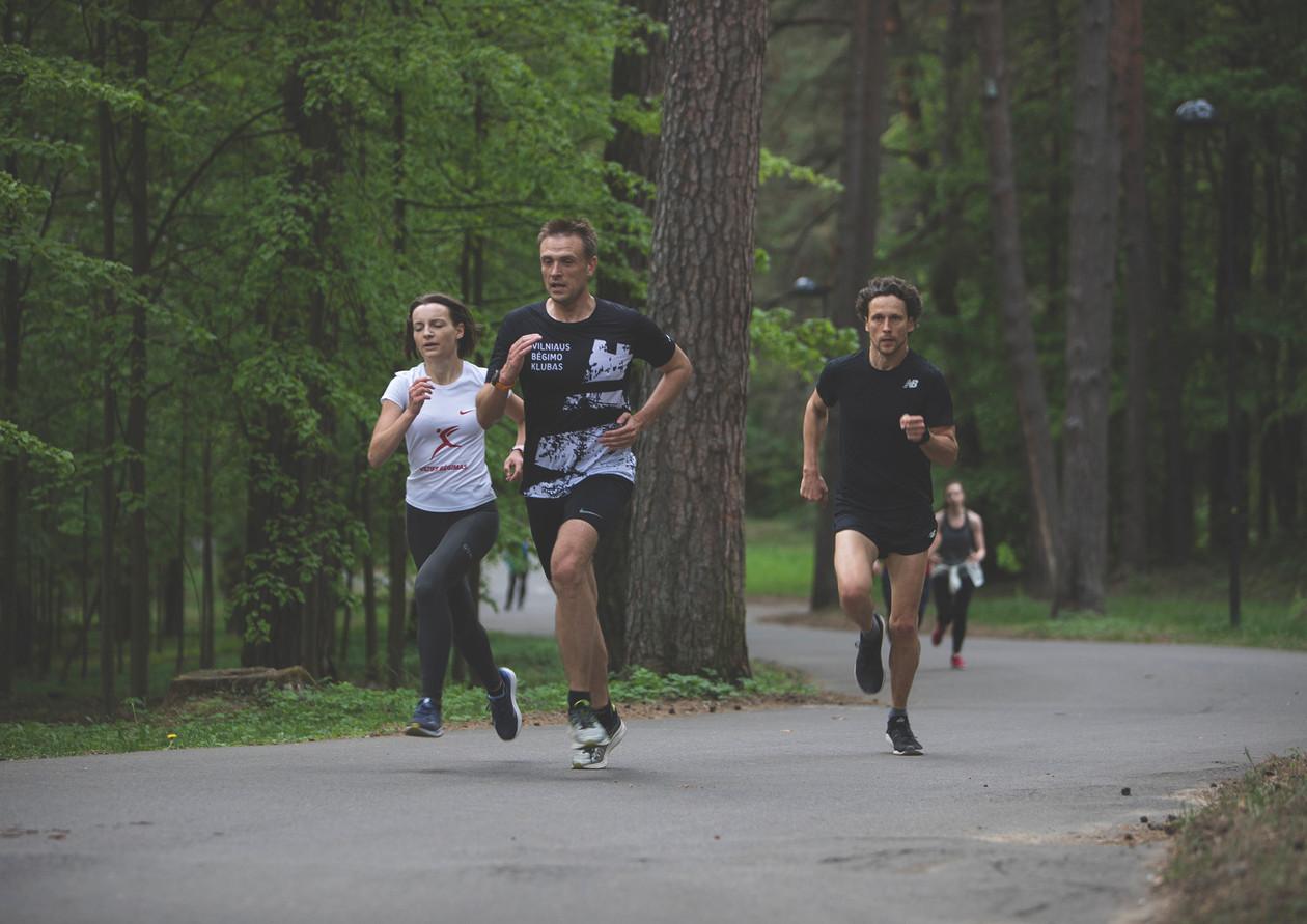 Vilnius running club workout