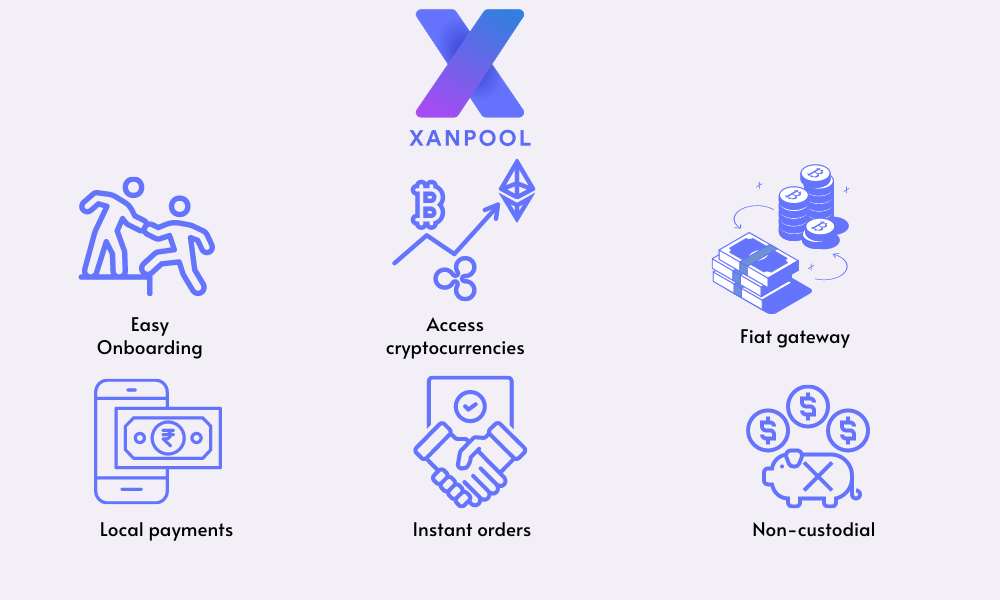 XanPool's crypto solution
