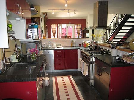 Loft Kitchen Ready for Entertaining