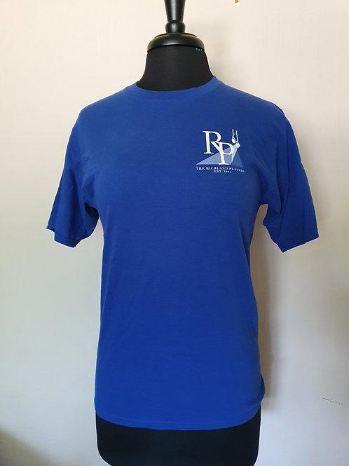 Blue 75th anniversary T - shirt