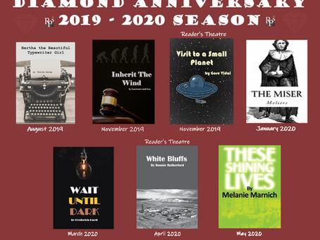 2019-2020 Diamond Anniversary Season News