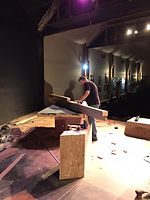Set Build Richland Players Will Thurston
