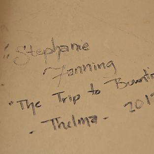 Backstage Graffiti