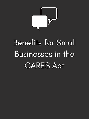 Benefits for Small Businesses in the CAR