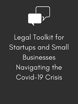 Legal Toolkit for Startups and Small Bus
