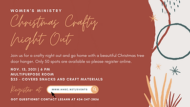 Christmas Crafty Night Out