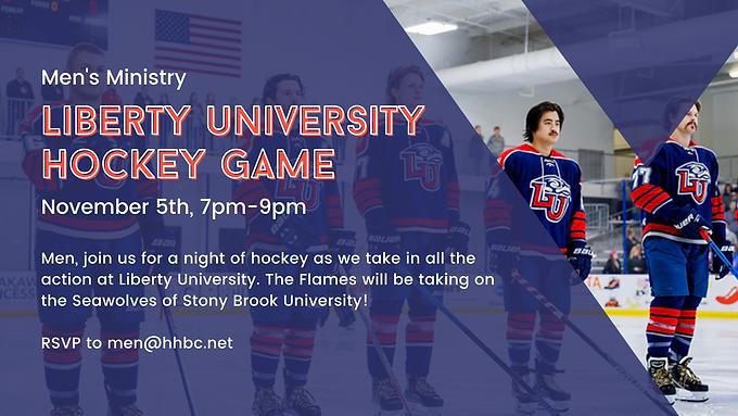 Men's Liberty University Hockey Game