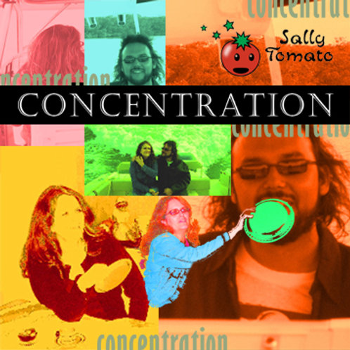 Sally Tomato - Concentration CD