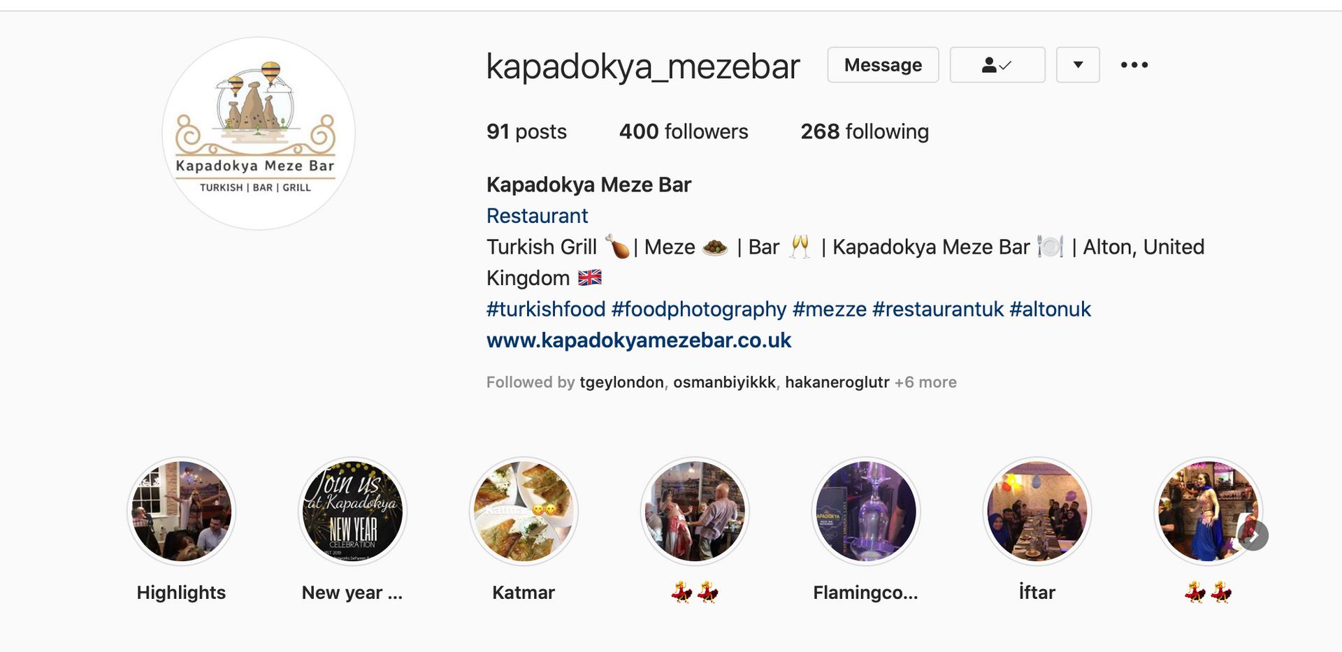 Kapadokya Meze Bar