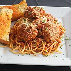 Spaghetti alla Bolognese & Meatballs
