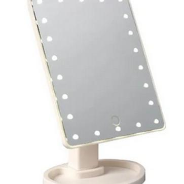 MAKE UP MIRROR - 16 LED LIGHTS