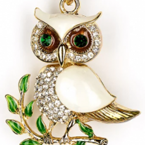 OWL SILVER AND WHITE KC 242