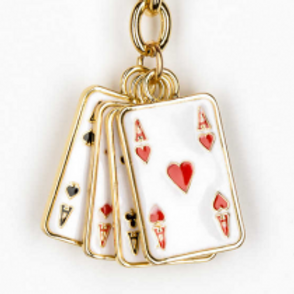 FOUR ACES PLAYING CARD KC 226