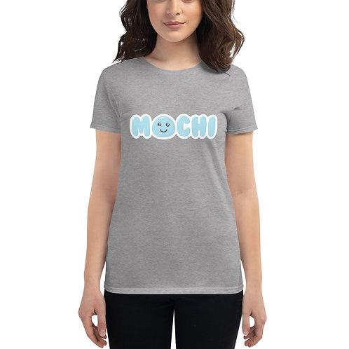 Women T-Shirt   Mochi Blue